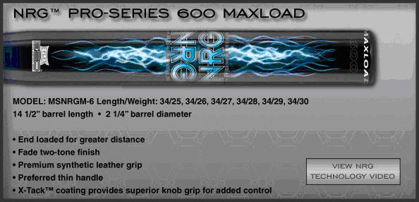 Miken NRG Pro Series 600 Max Load