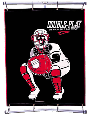 Practice Partner Canvas Catcher Double Play